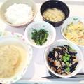 4月19日夕食(和風おろしハンバーグ) #病院食