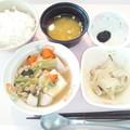 4月20日朝食(鶏と野菜の煮物) #病院食