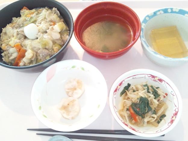 4月20日昼食(中華丼) #病院食
