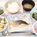 4月22日夕食(鮭の塩焼き) #病院食