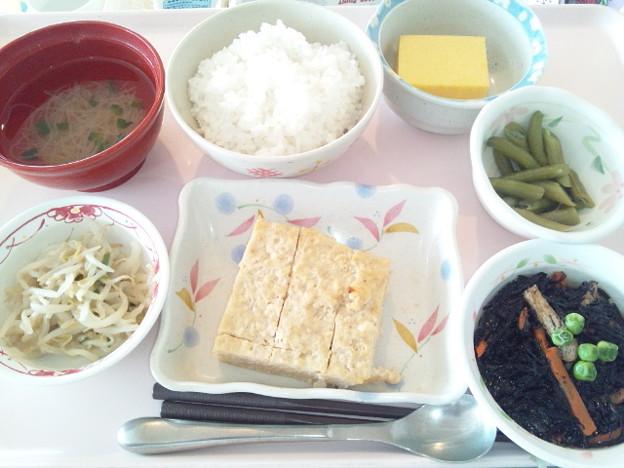 5月8日昼食(松風焼き) #病院食