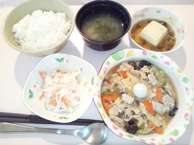 5月9日夕食(八宝菜) #病院食