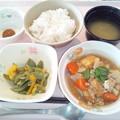 5月11日朝食(厚揚げの煮物) #病院食