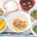 5月17日昼食(鶏の山椒焼き) #病院食