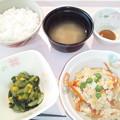 5月18日朝食(炒り豆腐) #病院食