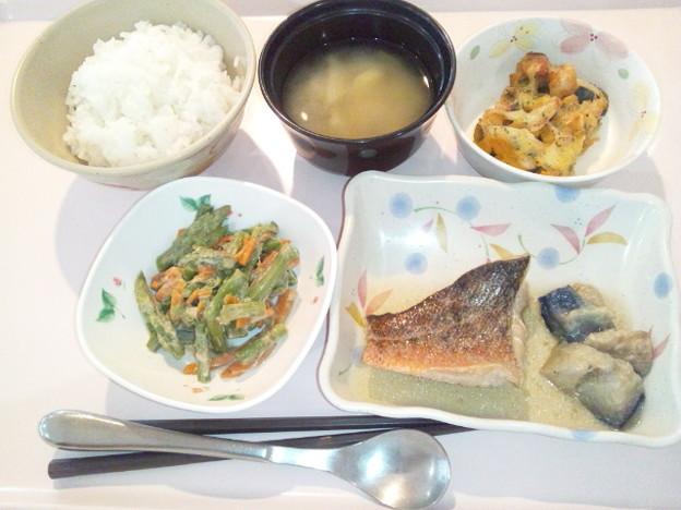 6月12日夕食(メバルの煮付け) #病院食