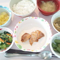 6月13日昼食(鶏肉のソテーガリバタソース) #病院食