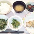 6月14日夕食(鶏のマスタード焼き) #病院食