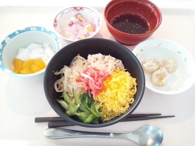 7月30日昼食(冷やし中華) #病院食
