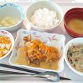 Photos: 9月17日昼食(鮭の南蛮漬け) #病院食
