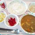 9月18日昼食(シーフードカレー) #病院食