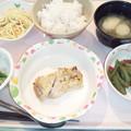 9月18日夕食(鶏の塩麹焼き) #病院食