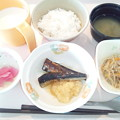 Photos: 9月19日朝食(鰯の生姜煮) #病院食