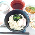 9月21日昼食(冷やし月見うどん) #病院食