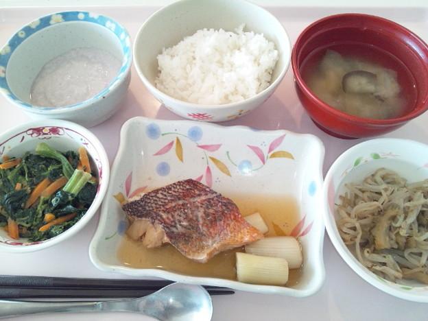9月24日昼食(めばるの生姜煮) #病院食