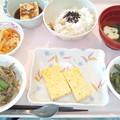 10月19日昼食(千草焼き・栗御飯) #病院食