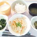 10月21日朝食(炒り豆腐) #病院食