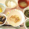 10月21日昼食(鶏の塩麹焼き) #病院食