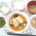 10月24日昼食(ロールキャベツ) #病院食