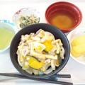 10月27日昼食(ほうとう風うどん) #病院食
