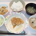 10月27日夕食(油淋鶏) #病院食