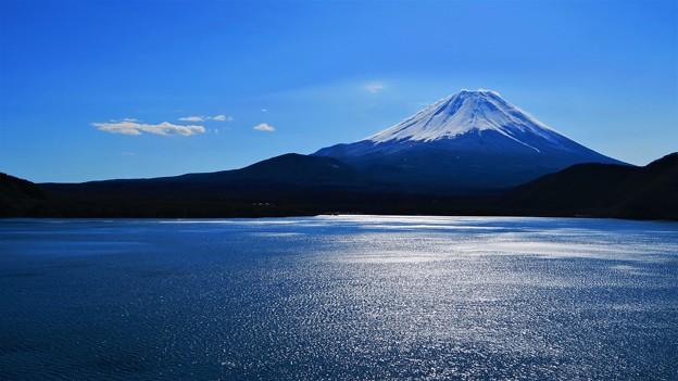 冬晴れの富士山 ?