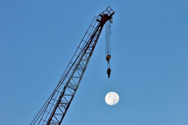 月を吊り上げろ