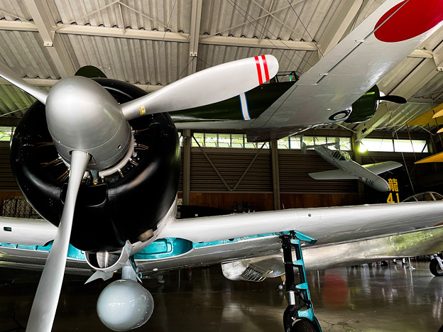 零戦21型と隼1型-2648