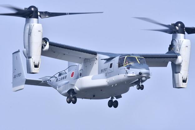 岩国遠征 日本向け陸上自衛隊のオスプレイ 試験飛行