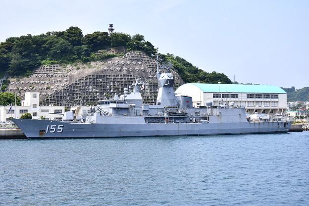 珍しい豪海軍のフリゲート艦バララット寄港(2)