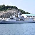 Photos: 珍しい豪海軍のフリゲート艦バララット寄港(2)