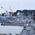 Photos: 横須賀基地に初寄港した英国海軍空母クイーンエリザベス