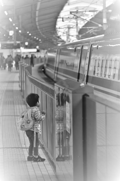 新幹線、大好き!