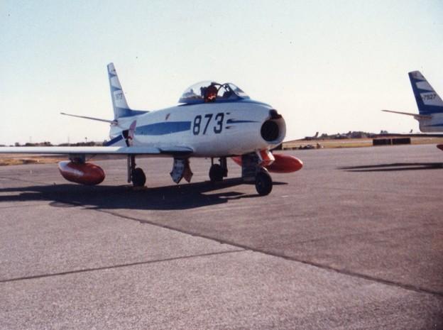 初代・F-86Fブルーインパルス
