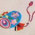 Photos: うちでの小槌を刺繍する