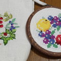 Photos: ベリーを刺繍する