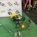 メタリック3Dパズル「建設機械」フォークリフト04
