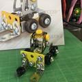 メタリック3Dパズル「建設機械」フォークリフト05