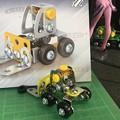 メタリック3Dパズル「建設機械」フォークリフト06