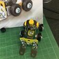 メタリック3Dパズル「建設機械」フォークリフト07