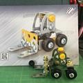 メタリック3Dパズル「建設機械」フォークリフト08