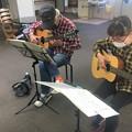 みよし市地域活動支援センターでギターデュオ2021年10月26日21