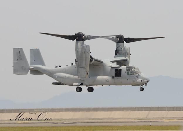 MV-22着陸