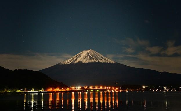 満月の晩に・・・富士を撮る ~其の二~