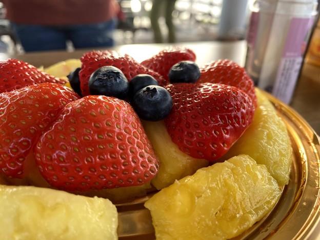 デザートのフルーツ