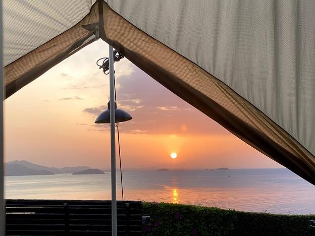 Photos: 絶景のキャンプ