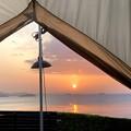 絶景のキャンプ