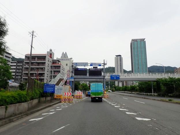 新神戸トンネルからスタート