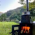 羽釜で直火炊飯