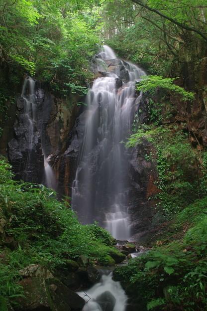 「トヤの夫婦滝」